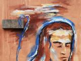 Teresa e l'apparizione del fiore blu